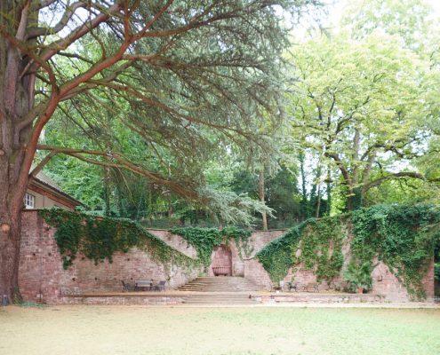 Garten der Sprachschule