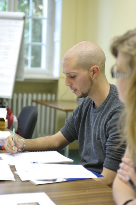 Teilnehmer des Vorbereitungskurses telc Deutsch C1 Hochschule