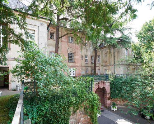 Gebäude der Sprachschule