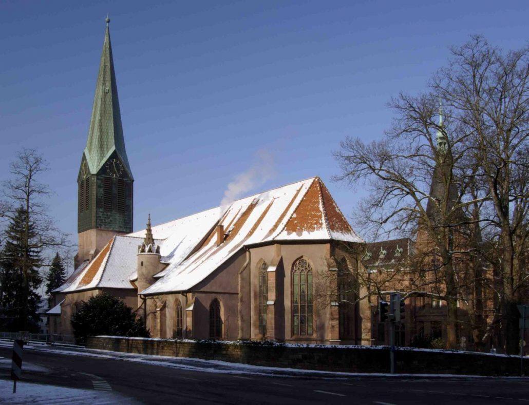 Peterskirche in Heidelberg