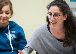 Teilnehmerinnen im Abendkurs Deutsch