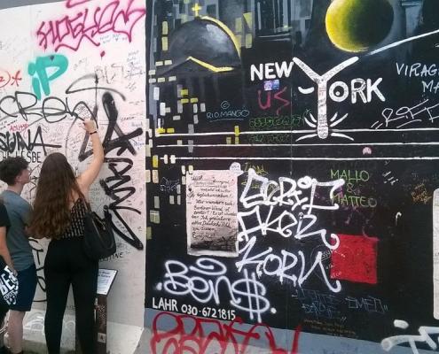 Sprachencamp in Berlin, Graffity Session